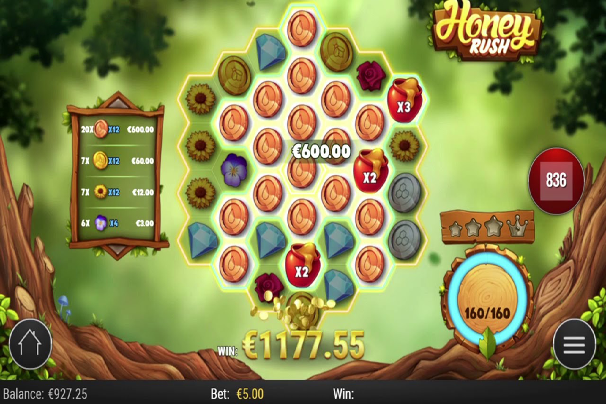 Visual Menarik Game Honey Rush Slot Online Playngo1 - Visual Menarik Game Honey Rush Slot Online Playngo